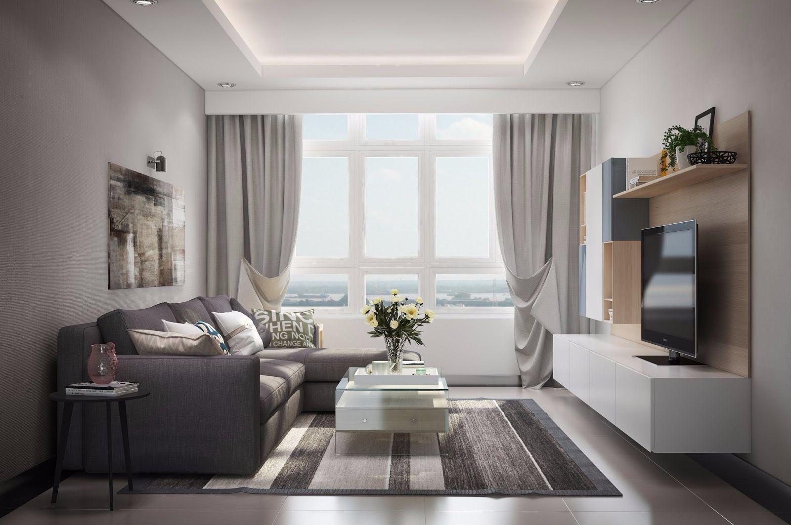 Giải pháp thiết kế nội chung cư cho những căn hộ nhỏ