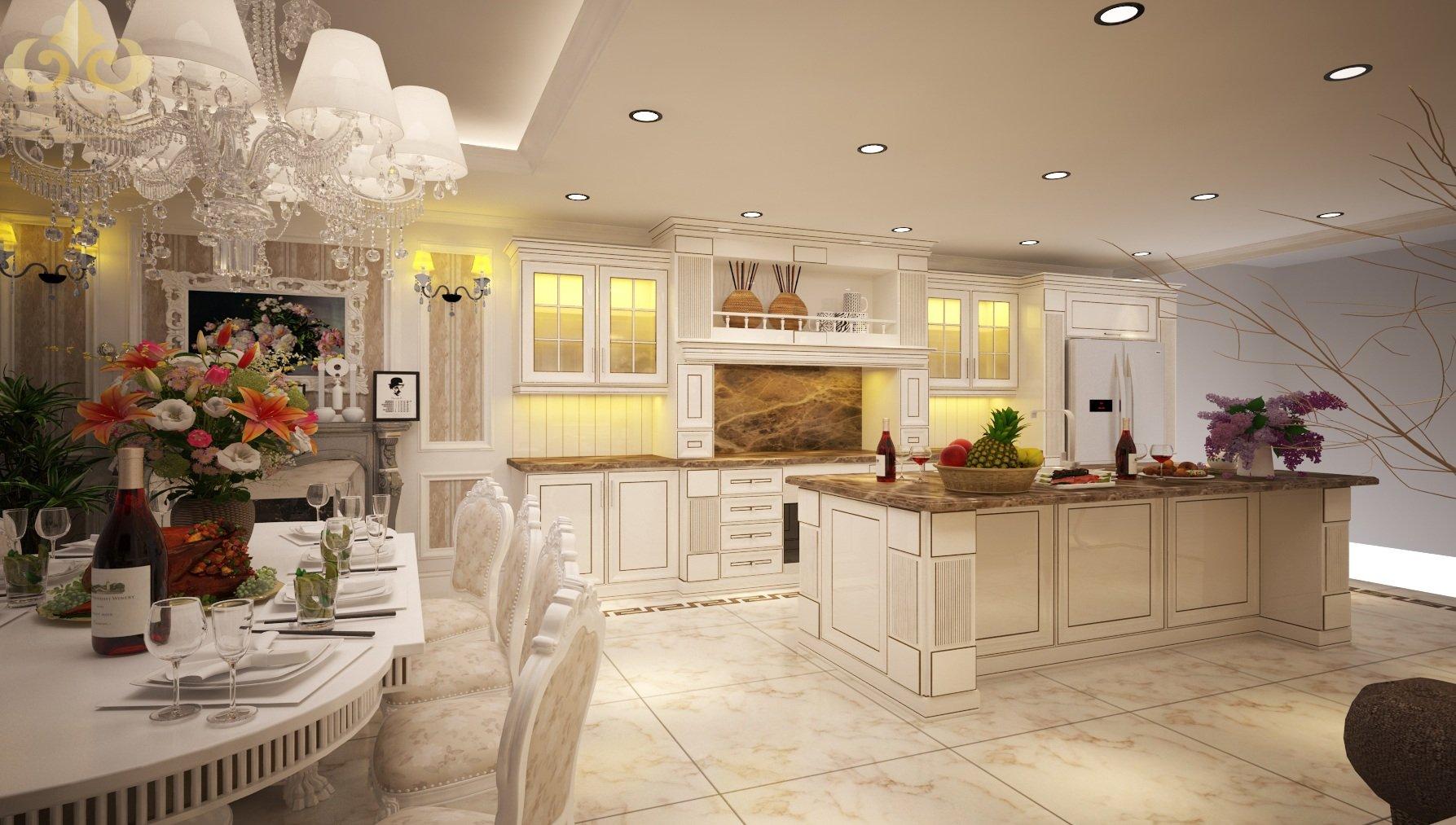 Tìm hiểu về thiết kế nội thất cao cấp theo phong cách Châu Âu