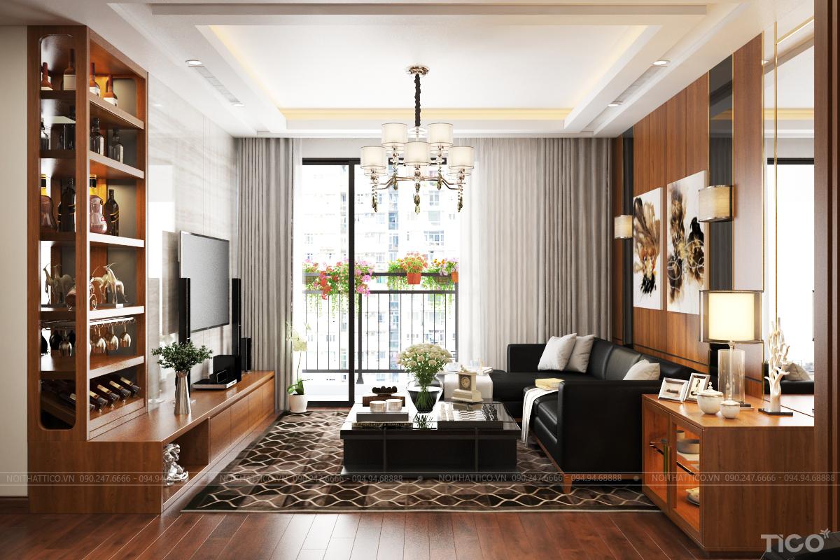 thiết kế nội thất cao cấp Hà Nội