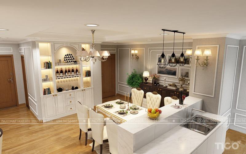 Thiết kế nội thất nhà chung cư cao cấp