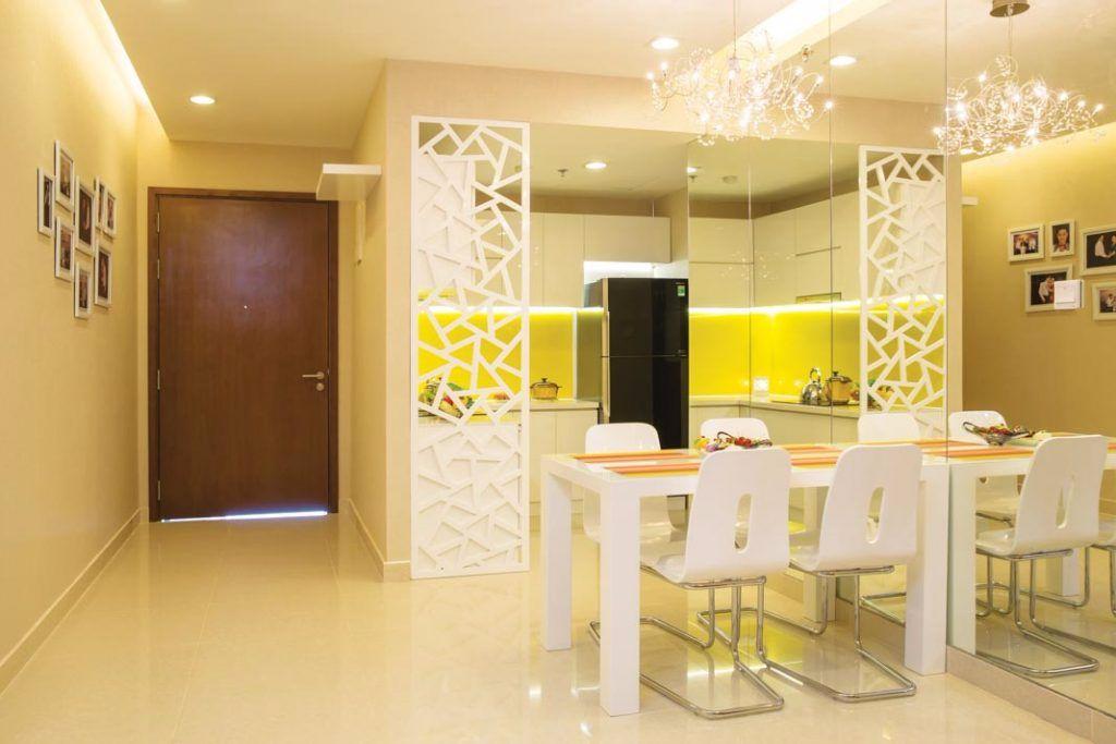 Thiết kế nội thất chung cư 80m2 trẻ trung siêu ấn tượng