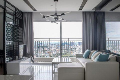 Thiết kế  thi công nội thất chung cư 50m2 sang trọng, ấn tượng