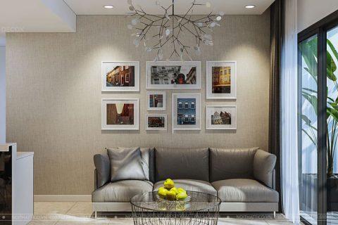 Thiết kế thi công nội thất chung cư Lilama 60m2 – Anh Minh