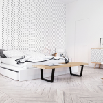 Cảm hứng cho phòng ngủ theo phong cách Scandinavian