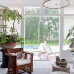 """""""Mách"""" bạn cách phối hợp cây xanh vào không gian phòng khách"""