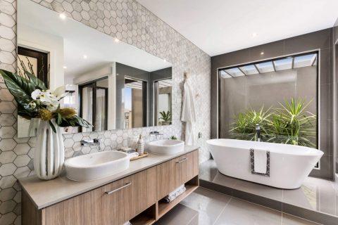 6 ý tưởng thiết kế cực chuẩn cho phòng tắm diện tích nhỏ!