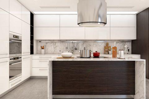 Thiết kế phòng bếp cá tính xu thế năm 2017 cho bạn lựa chọn