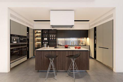 Nội thất nhà bếp đẹp và chất cho ngôi nhà trở nên ấn tượng hơn