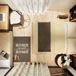 5 mẫu phòng ngủ cao cấp bất chấp diện tích cực khiêm tốn.