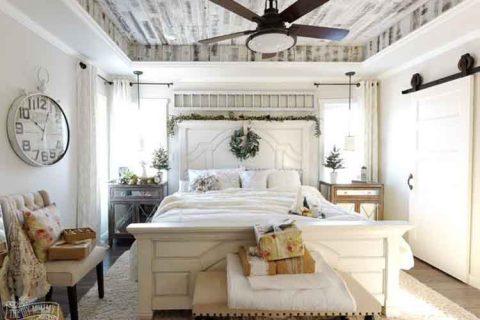 10 mẹo tạo phòng ngủ phong cách đồng quê Pháp tuyệt vời nhất.
