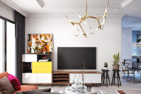 Thiết kế và thi công chung cư 3 phòng ngủ – Chị Chanh Park Hill 10