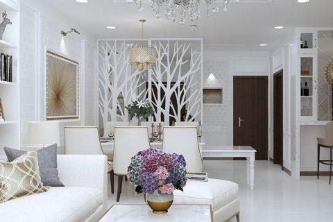 Thiết kế nội thất chung cư 123m2 – Chung cư Hyundai HillState