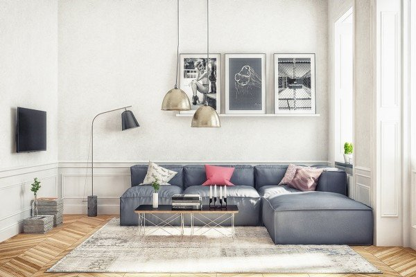 Thiết kế nội thất chung cư 70m2 thành căn hộ 100m2