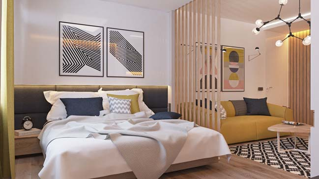 Choáng ngợp với những mẫu thiết kế nội thất phòng ngủ ấn tượng nhất