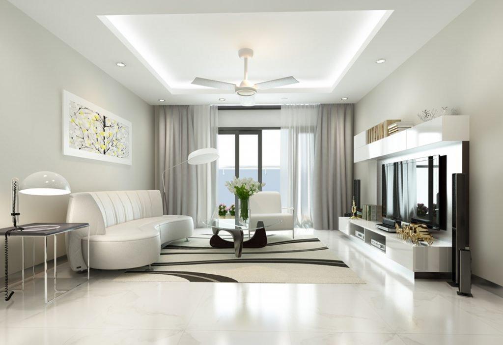 Kinh nghiệm trong thi công nội thất hiện đại cho chung cư