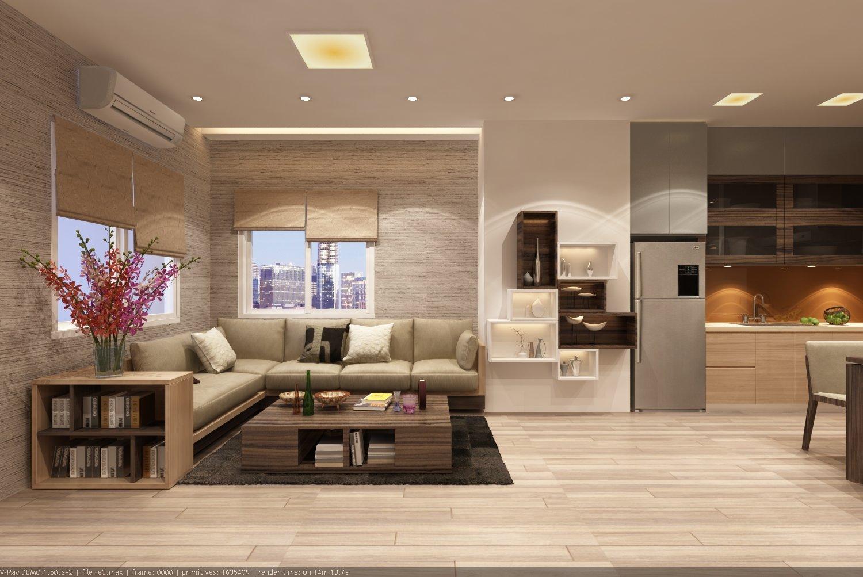 Bật mí kiểu thiết kế nội thất chung cư đẹp và hợp phong thủy