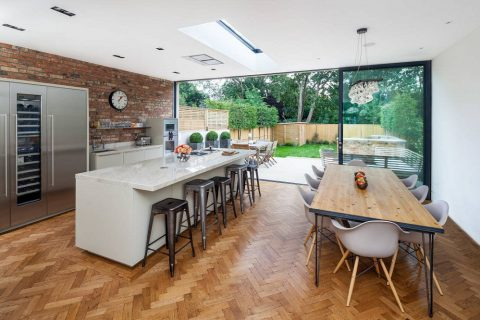 4 kiểu thiết kế nội thất phòng bếp hiện đại