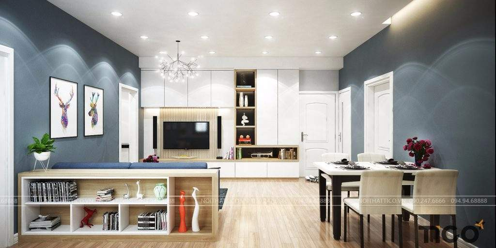 [Tìm hiểu] Báo giá thiết kế nội thất chung cư theo phong cách thiết kế