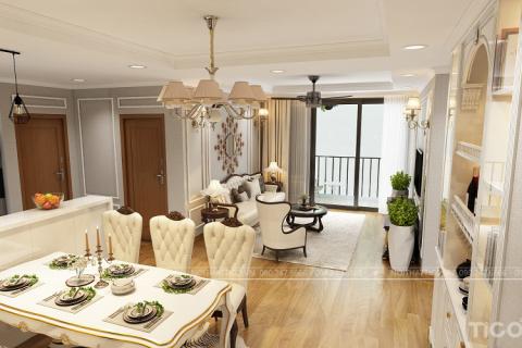 """Thiết kế nội thất nhà chung cư cao cấp Vinhomes TimeCity """"đẹp miễn chê"""""""