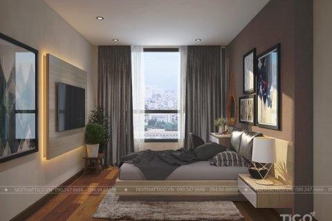 Thiết kế nội thất chung  cư 140m2