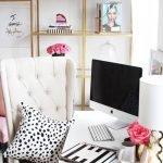10 không gian văn phòng nữ tính và sang trọng để Swoon Over – Ý tưởng trang trí