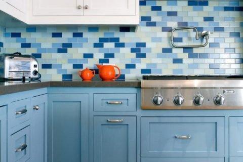 Màu xanh trong nhà bếp – Cocoon trang trí: blog