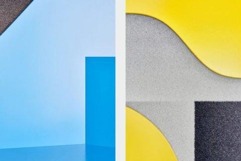 Unusual Volume – Không gian phòng làm việc đầy sắc màu