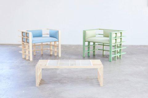 """Bộ sưu tập đồ nội thất """"những đường thẳng"""" của Elliot Bastianon – Noithatmagazine"""